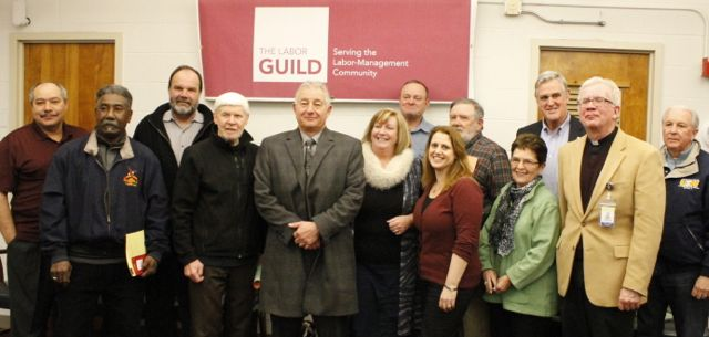 Despite raw, snowy weather, the Guild's Annual Membership Meeting was warm and lively.