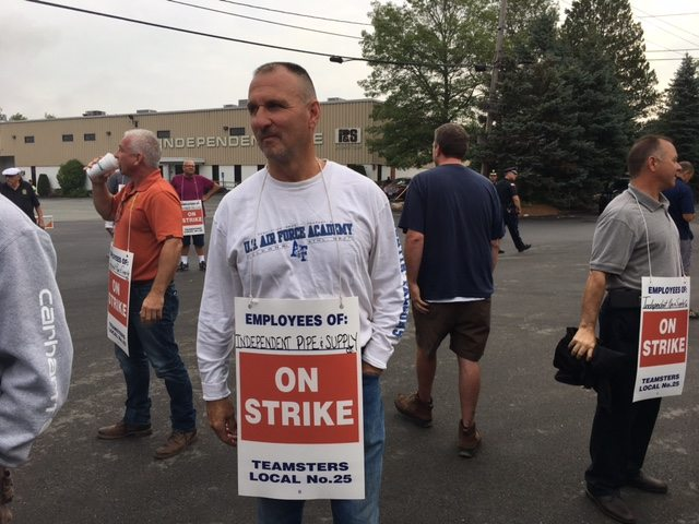 Teamsters' Solidarity Rally for Independent Pipe Strike