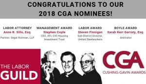 2018 CGA DInner Billboard