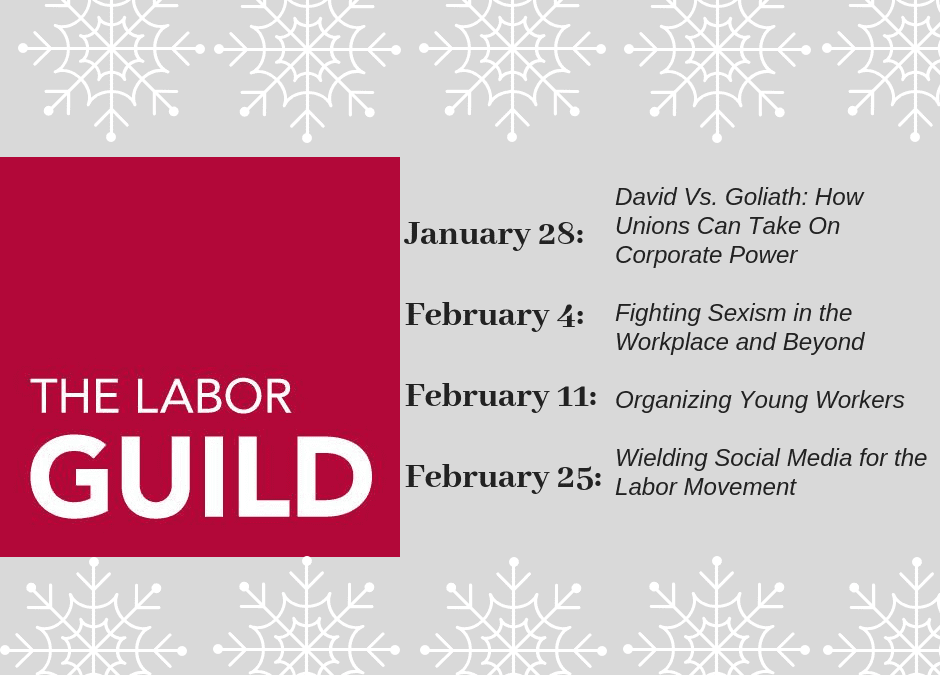 Winter 2019 – Young Workers' Workshop
